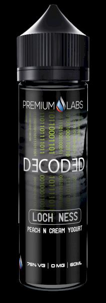 Loch Ness - Peaches and cream - Decoded E Liquid 60ml