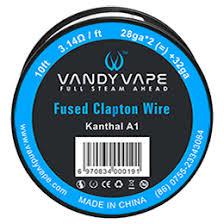 Vandyvape Fused Clapton KA1 Wire 28ga*2mm + 32ga 10FT