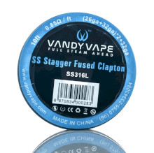 Vandyvape Fused Clapton KA1 Wire 26ga*2mm + 32ga 10FT