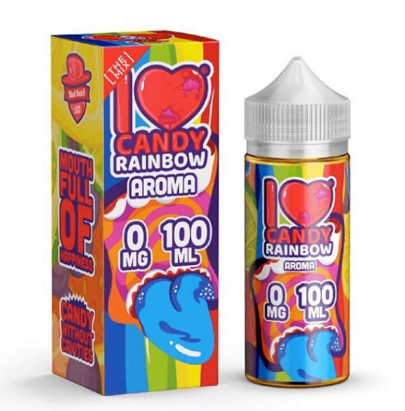 Mad Hatter I Love Candy - Rainbow 100ml