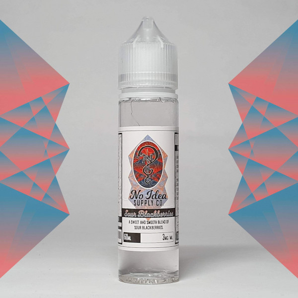 No Idea - Sour Blackberries 60ml