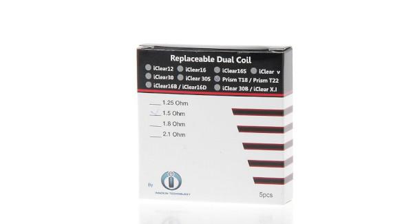 Innokin Endura T18 & T22 Coil 1.5ohm - 5 Pack
