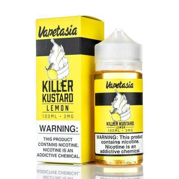 Vapetasia Killer Kustard - Lemon  100ml