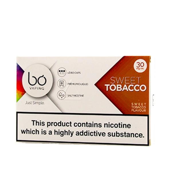 BO Vape - Sweet Tobacco 30mg - 3 Pack