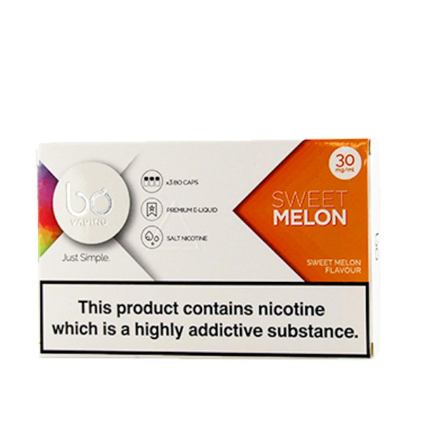 BO Vape - Melon 30mg - 3 Pack