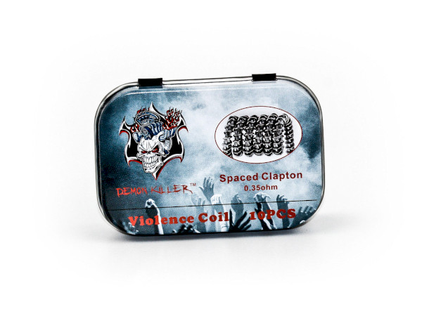 Demon Killer Spaced Clapton Coil - 10 Pack
