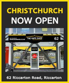 The Vape Shed Christchurch